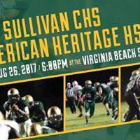 Varsity Football Bishop Sullivan CHS vs American Heritage HS