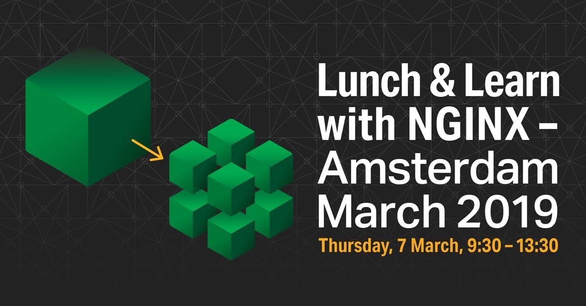 Nginx Amsterdam Lunch and Learn