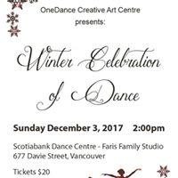 Winter Celebration of Dance