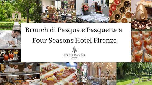 Brunch di Pasqua e Pasquetta a Four Seasons Firenze