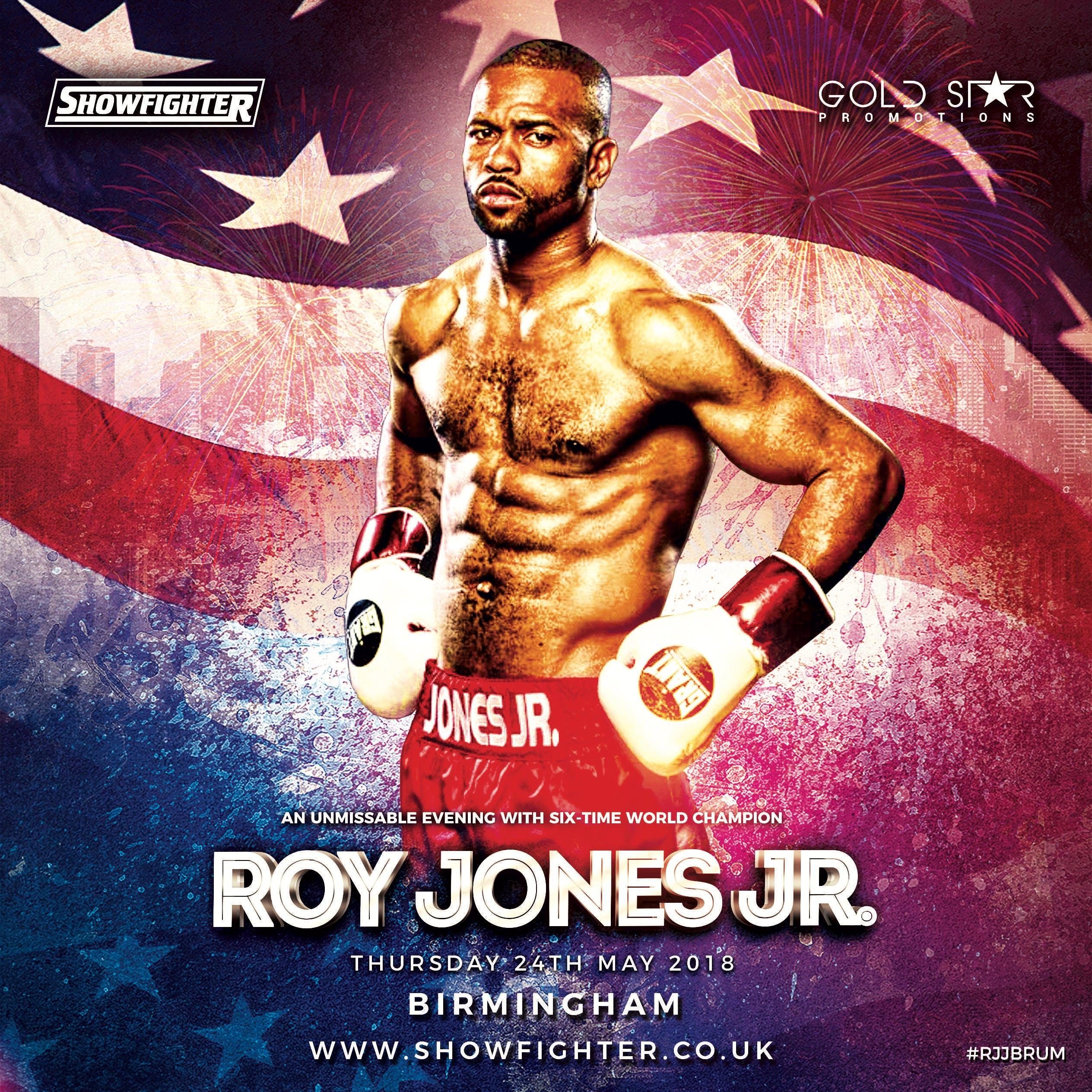An Evening with Roy Jones Junior