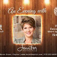 An Evening with Jennifer Rothschild