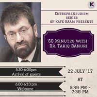 60 minutes with Dr.Tariq Banuri on Civic Entrepreneurship