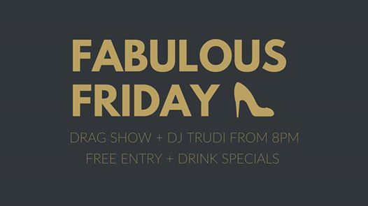 Fabulous Friday - December 7 at Recess Bar