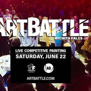 Art Battle Wichita Falls - June 22 2019