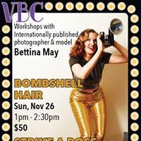 Pin-up Workshops with Bettina May at the VBC