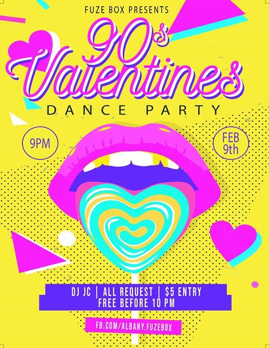 90s Valentines Dance Party