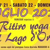 Presentazione del Ritiro Yoga sul lago dOrta