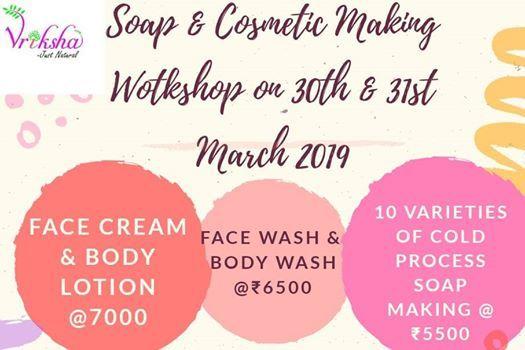Artisan Soap & Cosmetic Making Worshop