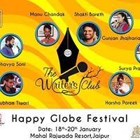 Sham-E-Writers at Happy Globe Festival I Jaipur