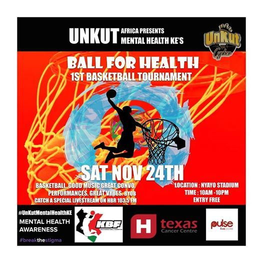 UnKut Mental Health KEs Ball For Health Basketball Tournament