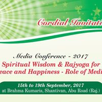 Spiritual Wisdom &amp Rajyoga for Peace and Happiness-Role of Media
