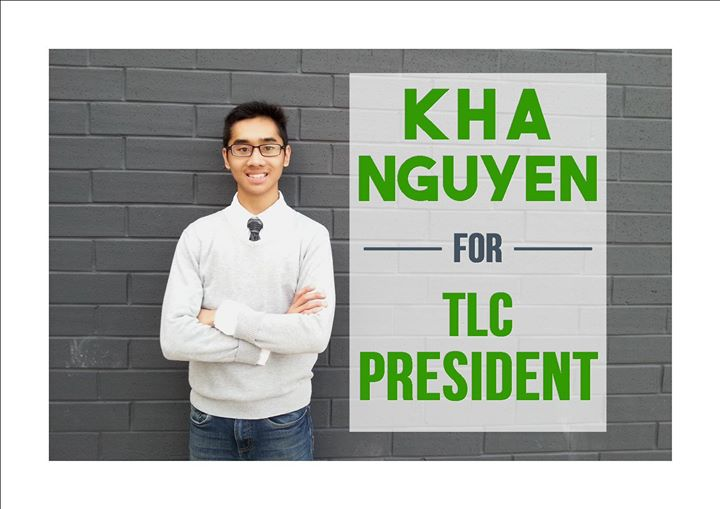Vote Kha Nguyen for TLC President