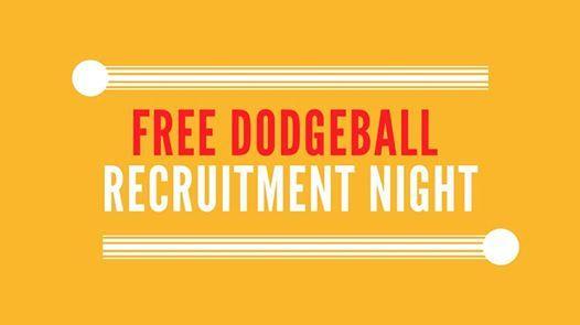 Free Dodgeball  Recruitment Night
