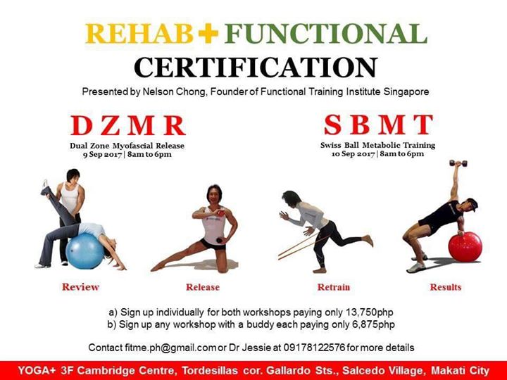 Dual Zone Myofascial Release And Swissball Metabolic Training At