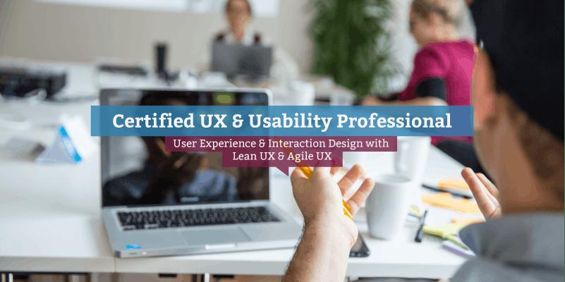 Certified UX & Usability Professional (EN) Dublin