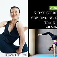 5-Day 30hrs Forrest Yoga CET  Forrest Yoga 5 with Sin Hee Ye