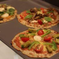 Taller Pizzas y Quesos veganos sin gluten