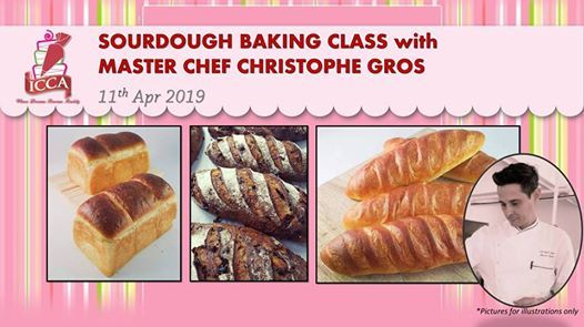 Sourdough Baking Class with Master Chef Christophe Gros