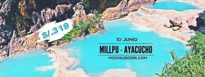 Viaje mochilero a piscinas millpu ayacucho at mochilerospe for Piscinas naturales chile