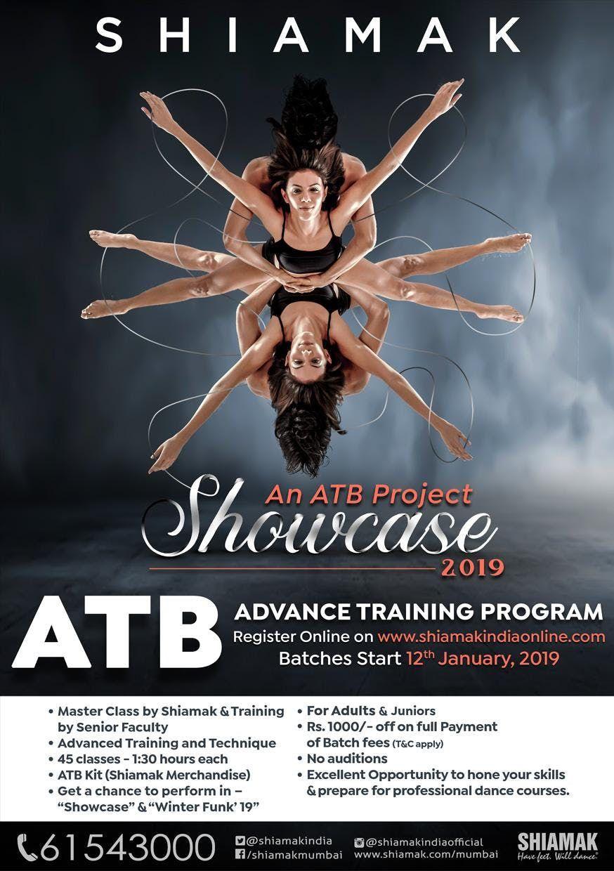 Learn with Dance Guru Shiamak Davar in ATB