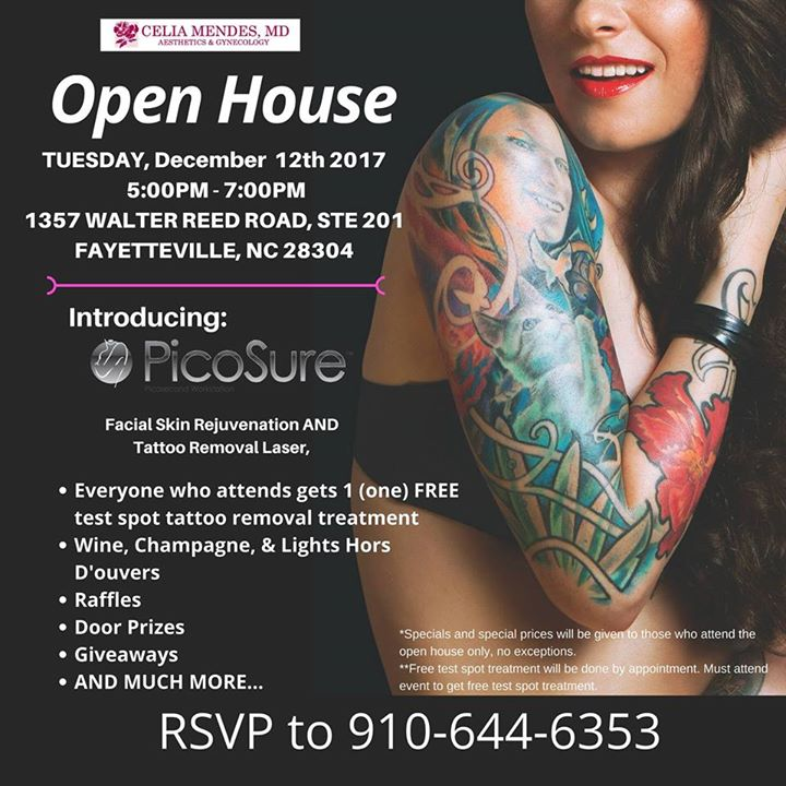 Open House introducing PicoSure® Laser at Celia Mendes, MD PA ...