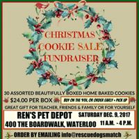Christmas Cookie Sale Fundraiser - Rens Pet Depot