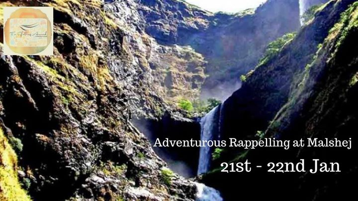 1200 ft Rappelling to Malshej Ghat