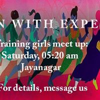 Pinkathon Training Meet up  Jayanagar