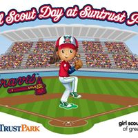 Girl Scout Day at the Atlanta Braves