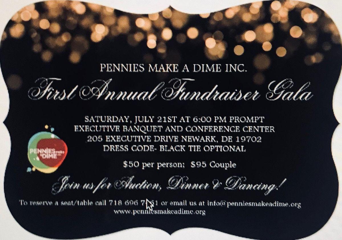 1st Annual Pennies Make A Dime Inc. Fundraiser Gala