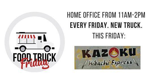 Food Truck Friday | Kazoku Hibachi at Mortgage Investors