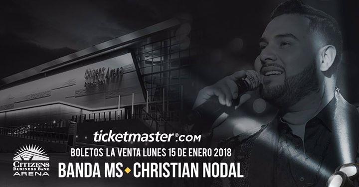 Banda MS y Christian Nodal