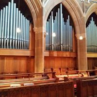 Brett Leighton on the Burbury Pipe Organ