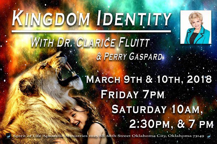 Kingdom Identity with Dr Clarice Fluitt