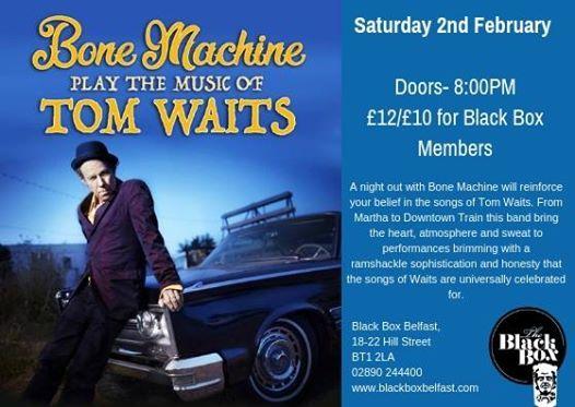 Bone Machine Play the Music of Tom Waits
