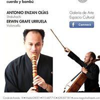 Concierto de Flauta Japonesa y Cello &quotIto to Take&quot