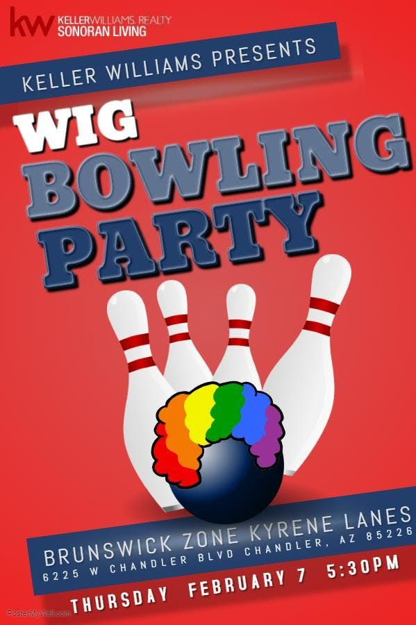 Wig Bowling Party