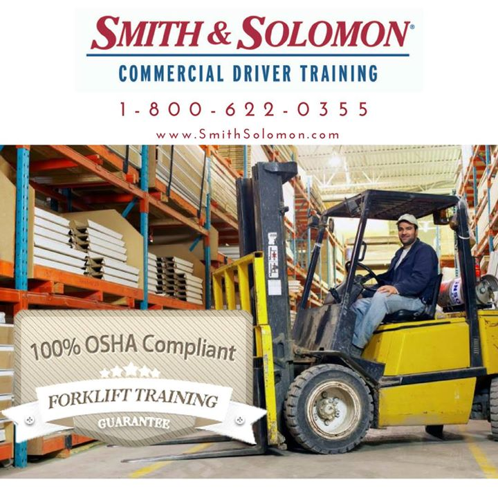 Osha Forklift Certification At Smith Solomon Commercial Driver