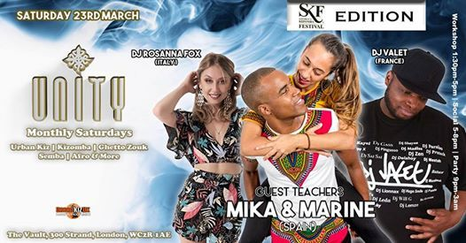 Unity SKF Edition with Mika & Marine DJ Valet & DJ Rossana Fox