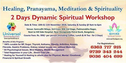 Spiritual and Healing Camp