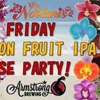 Aloha Friday Passion Fruit IPA Release
