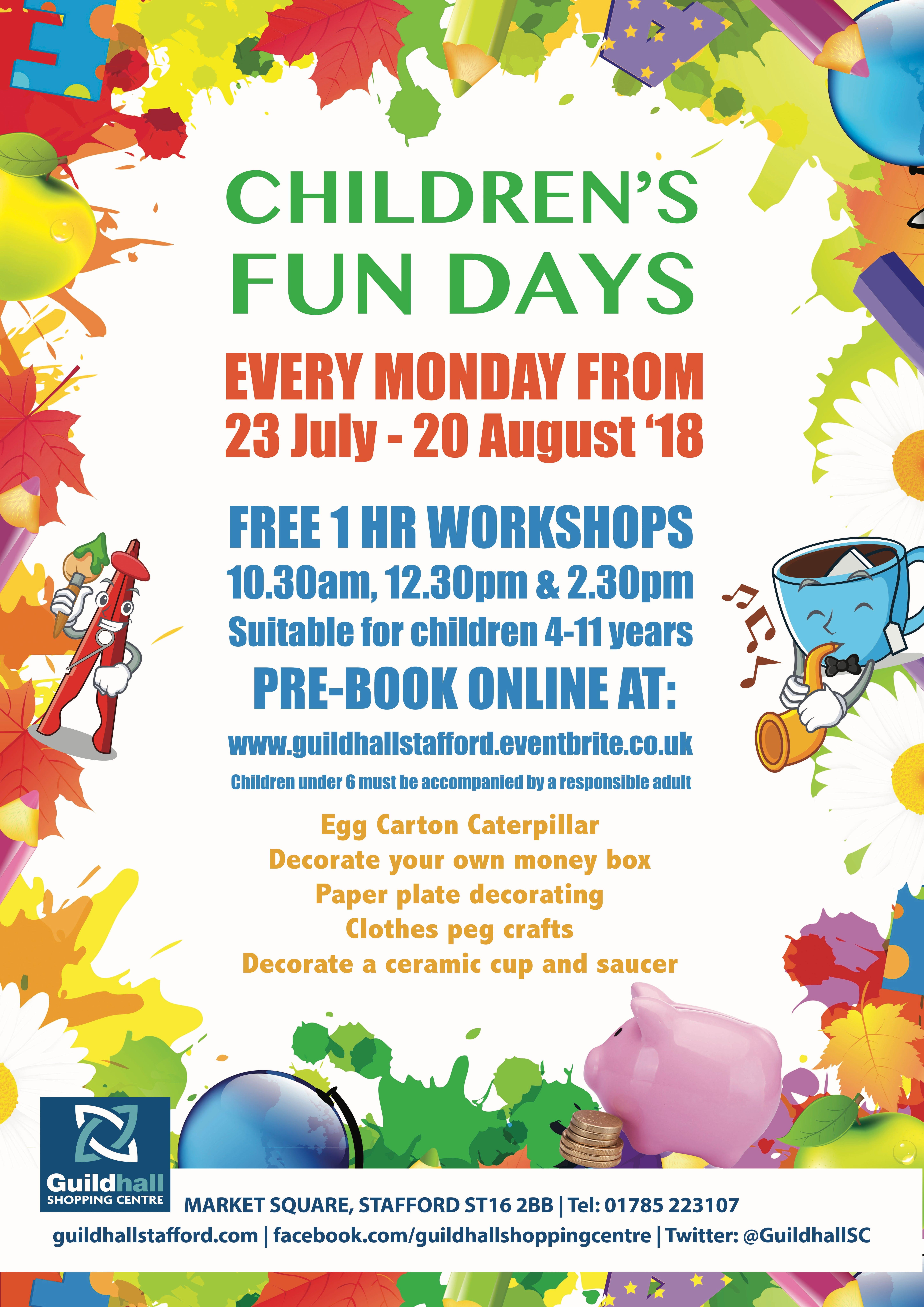 Childrens Monday Fundays - Decorate a Ceramic Cup & Saucer Planter