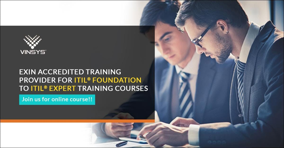 Itil Intermediate Csi Certification Training Hyderabad From 9th June