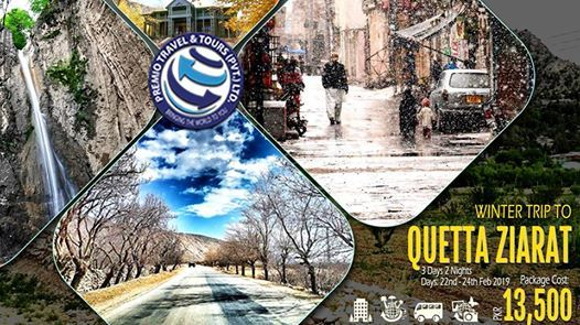 Winter Trip To Quetta Ziarat
