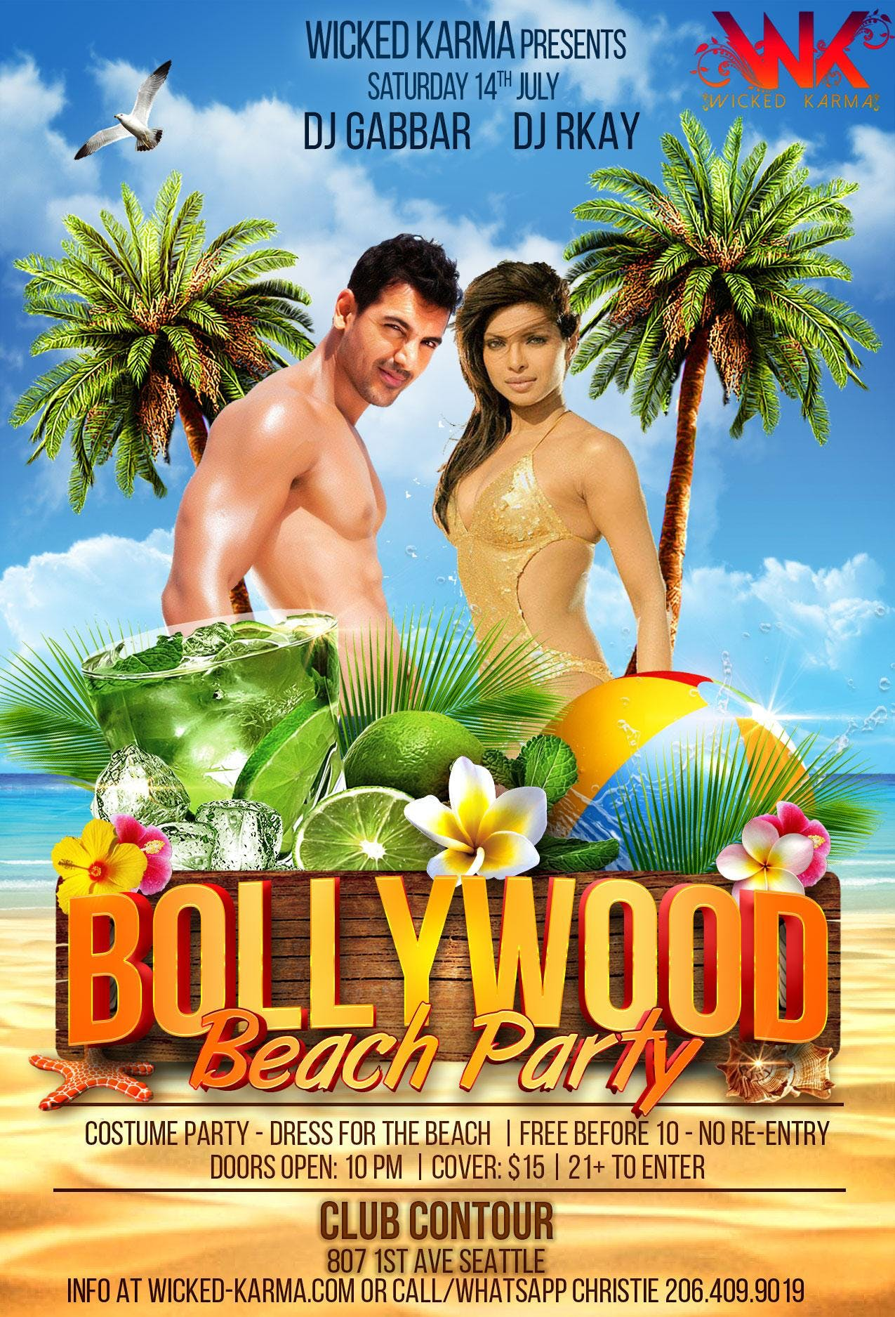 WK Presents Bollywood Beach Dance Party