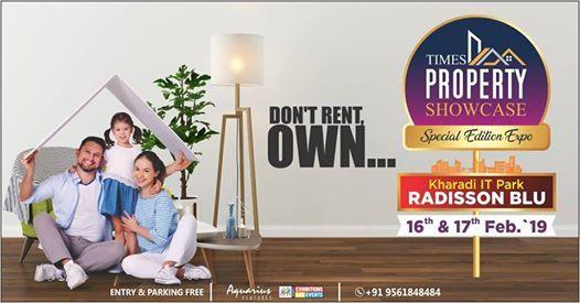 Times Pune Property Showcase 2019 Radisson Blu Kharadi It Park