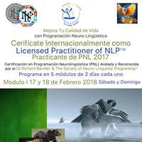 Certificacin Internacional en PNL Modulo I Los Angeles
