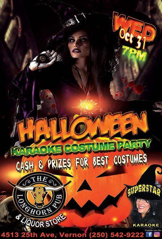halloween karaoke costume party