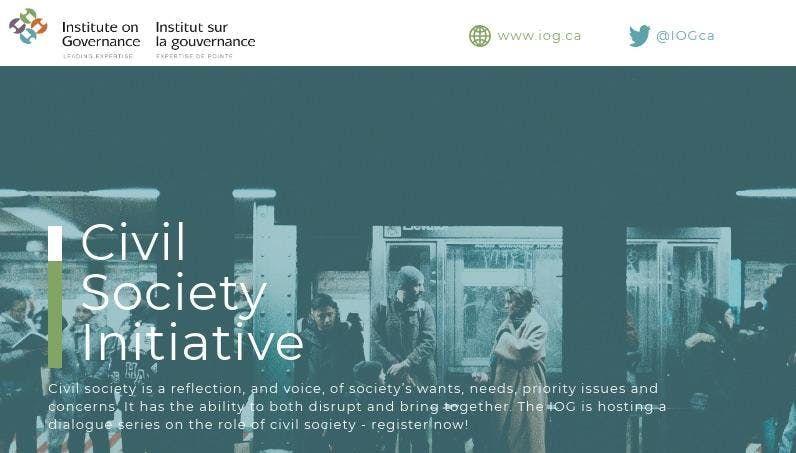 IOGs Civil Society Initiative Bundle Tickets